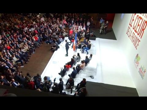 REPLAY. Discours intégral d'investiture de Benoît Hamon