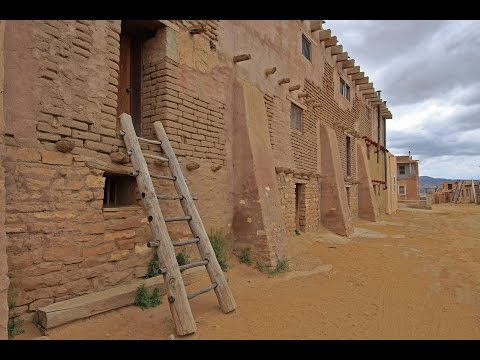VIDEO: Dramatic Acoma Pueblo Sky City, New Mexico