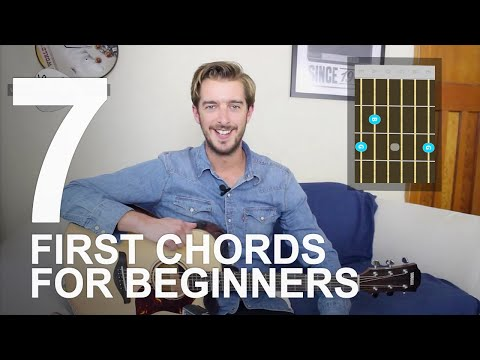 How To Play Guitar - 7 Easy Guitar Chords For Beginners