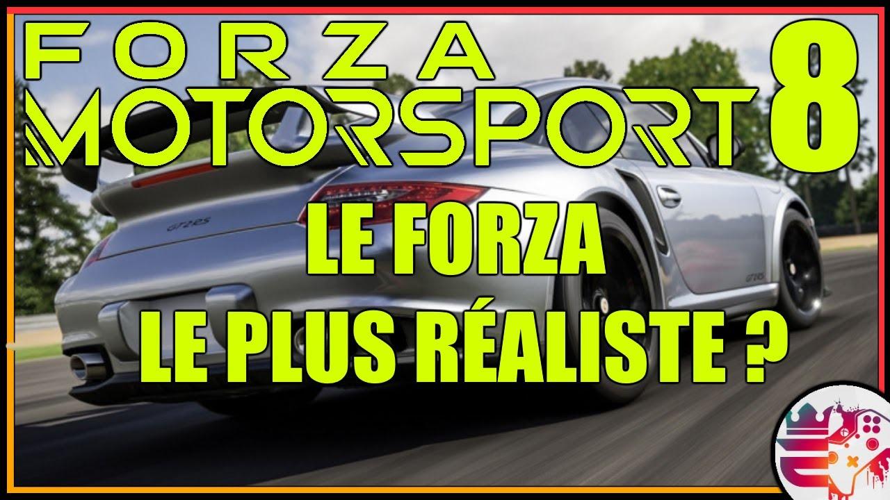 Forza Motorsport 8 : ENFIN DE NOUVELLES INFOS ! - Eckinox