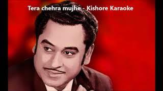 Tera chehra karaoke Kishore Kumar