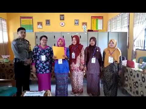 Deklarasi Anti Hoax Majelis Guru SMPN 7 Pinggir Desa Balai Pungut Kec.Pinggir