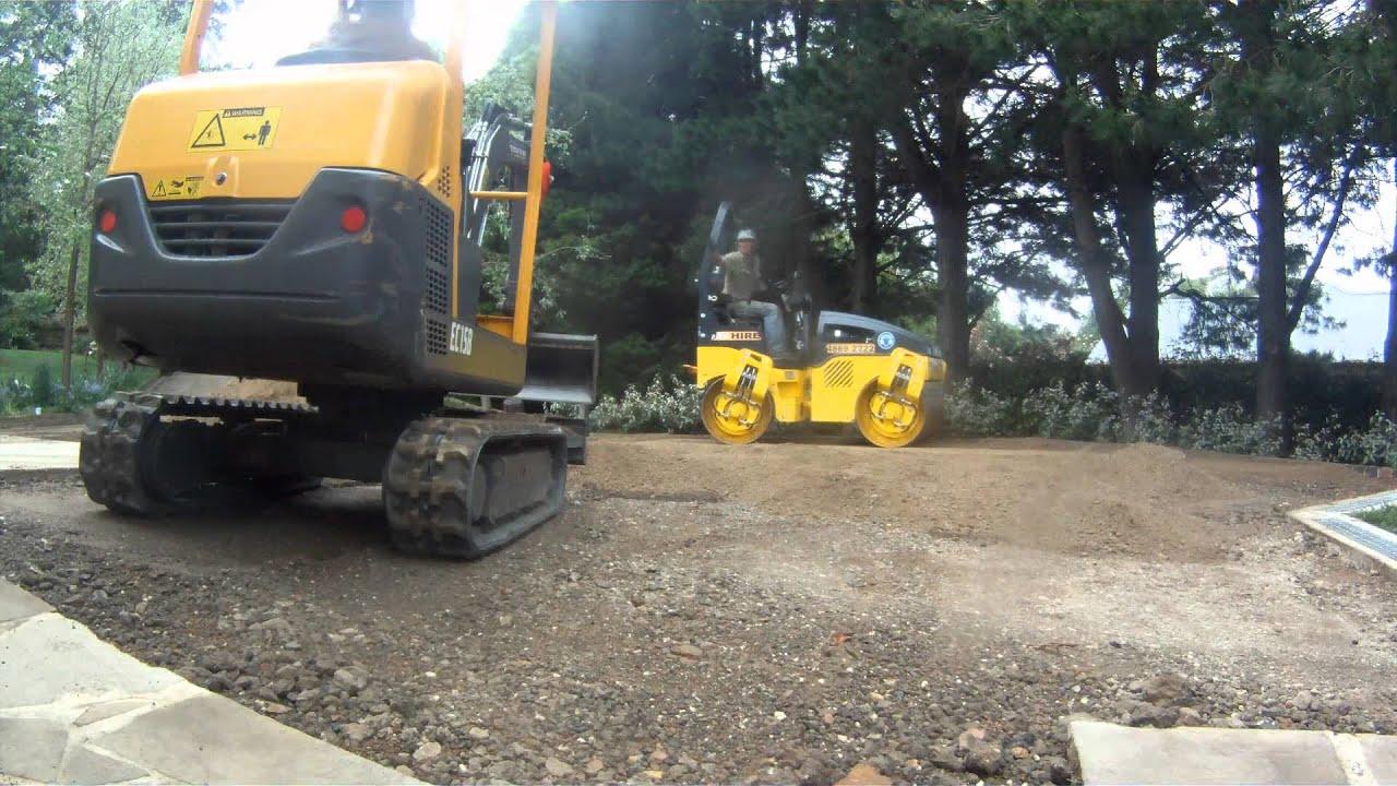 TIMELAPSE: Driveway Rebuild