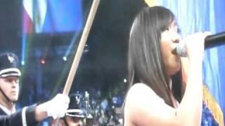 Charice Pempengco singing Lupang Hinirang ( Pacquiao - Mosley fight )