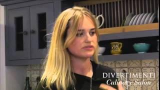 Mina Holland at the Divertimenti Culinary Salon