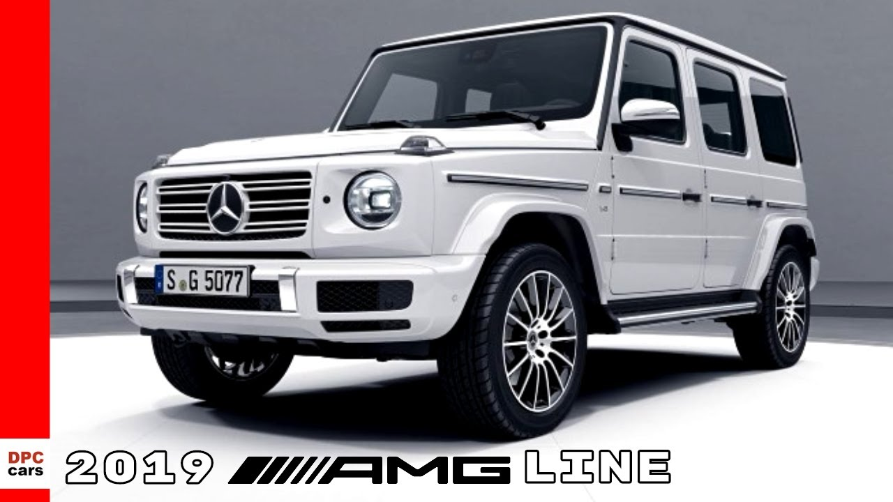 White 2019 Mercedes G Class Amg Line Youtube
