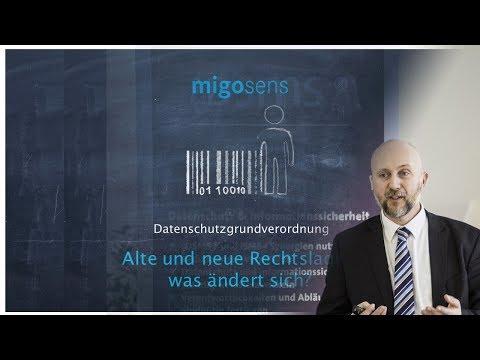 Datenschutzgrundverordnung - Alte und neue Rechtslage - was ändert sich?