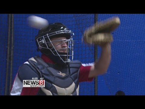 Orange native comes up with innovative catcher's mask