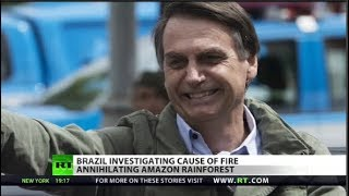 Will Brazil's fire be Bolsonaro's Hell?