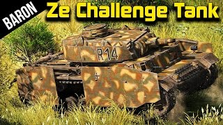 The German Challenge Tank - War Thunder Tanks Gameplay