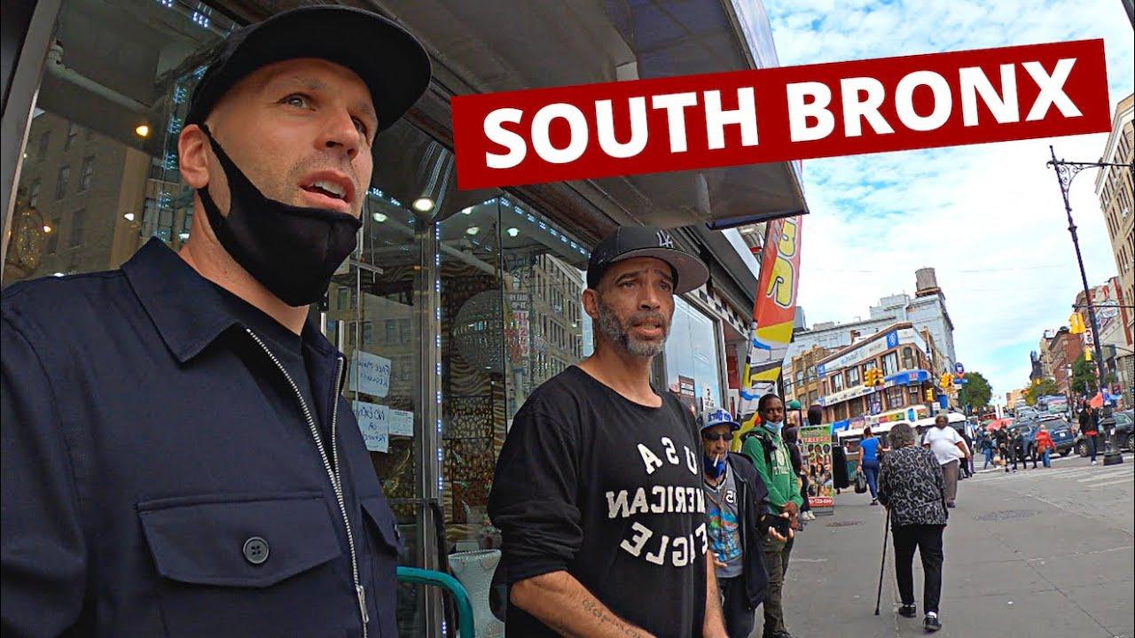 Inside New York City's MOST DANGEROUS HOOD - South Bronx