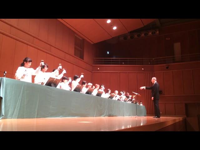 There's a Song in the Air, Kobe YMCA Bell-choir (Dir. Nozomu Abe) 2018 Dec,  ハンドベル
