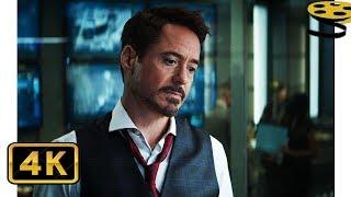 Тони просит Стива подписать Заковианский Договор | Первый мститель: Противостояние | 4K ULTRA HD