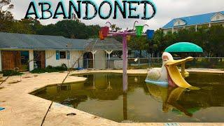 Abandoned Myrtle Beach Motel on Ocean Boulevard - Myrtle Beach, SC
