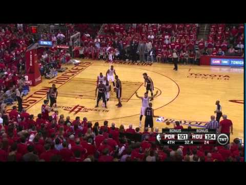 Trail Blazers Vs Rockets Game 1: Harden And Lillard In The Clutch