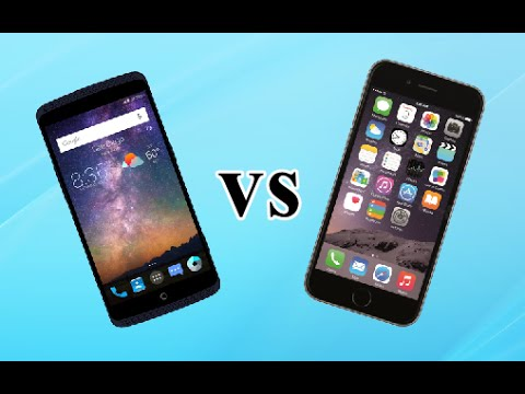 ZTE AXON 7 MINI VS IPHONE 7