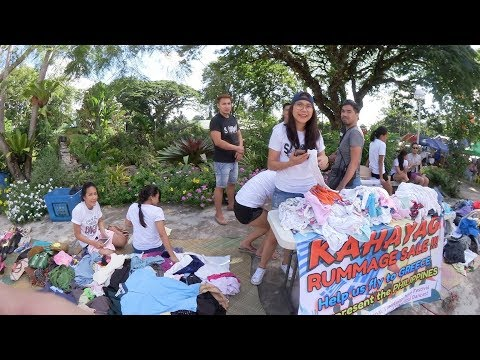 Sunday Outdoor Market At The Plaza, Valencia Negros Oriental Philippines