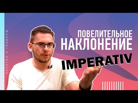 Урок немецкого языка #29. Повелительное наклонение — Imperativ!