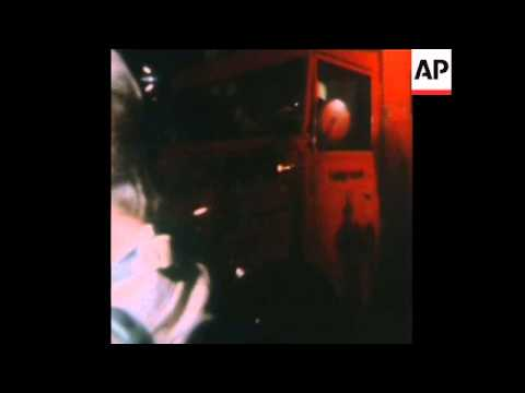 SYND 6/9/72 GUN FIRE AT FUERSTENFELDBRUCK AIRPORT AS TERRORISTS AND ISRAELI ATHLETES ARE KILLED