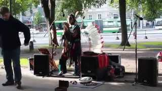 American Indians musicians in Tallinn - Imaganes