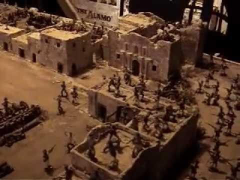 Alamo Diorama Tribute To The Battle Youtube