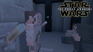 Minecraft StarWars: Kylo Ren Interrogates Rey Scene Recreation