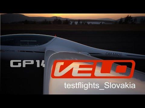 GP14 testflights Slovakia