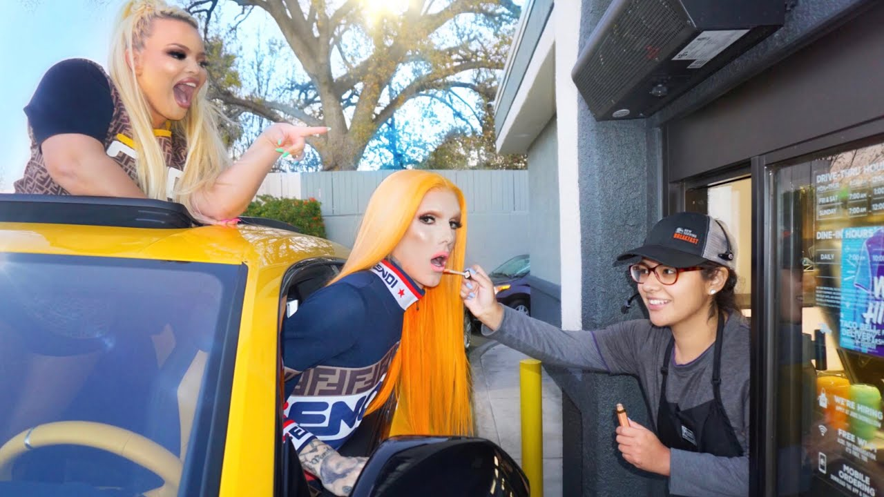 ae303b48 Drive-Thru Does Our Makeup feat. Trisha Paytas - YouTube