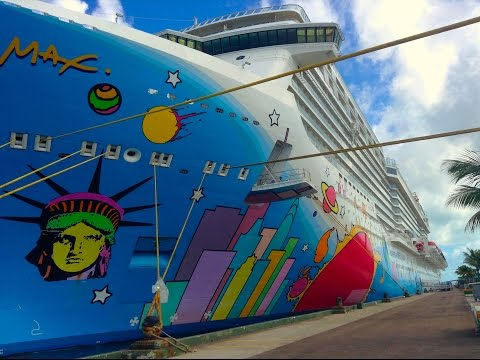 Norwegian Breakaway Cruise VLOG November 1, 2015
