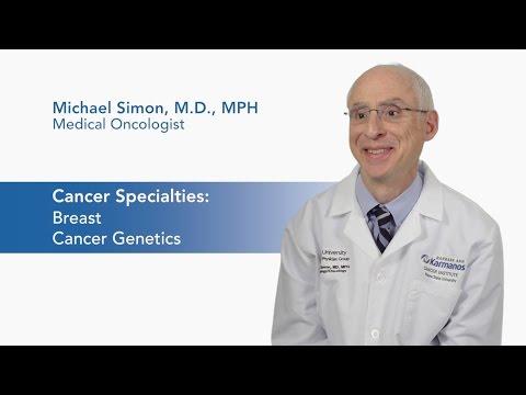 Meet Dr. Michael Simon - Medical Oncologist video thumbnail