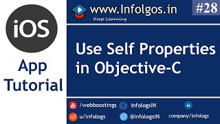 How to Use Self Properties in Objective C - Tutorial 26