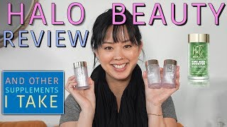 HALO BEAUTY KIWI REVIEW & MY SUPPLEMENTS ROUTINE