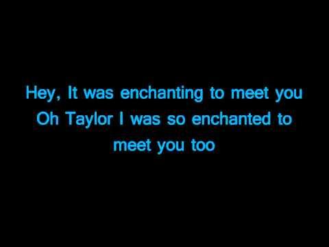 Owl City-Enchanted (lyrics)