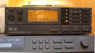 Daggerfall on Roland SC-88 MIDI: FOLK3