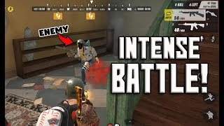 BEST AIMING USING M4A1 RIFFLE!! (Rules of Survival: Battle Royale) [TAGALOG]
