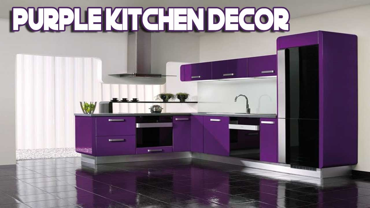 [Daily Decor] Purple Kitchen Decor