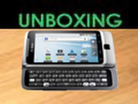 T-Mobile G2/HTC Desire Z - UNBOXING!