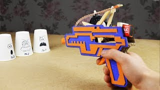 How to Make Fully Automatic Gun from cardboard