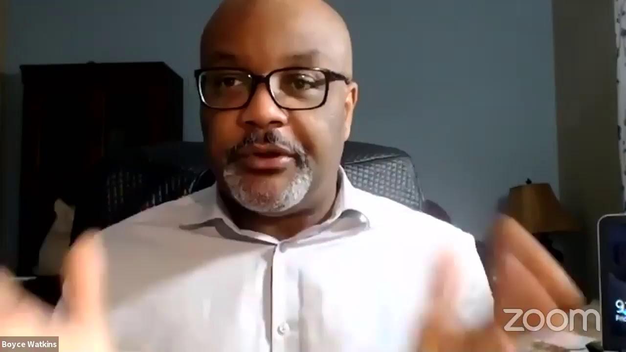 Oprah uses fear mongering to get black votes - Dr Boyce Watkins