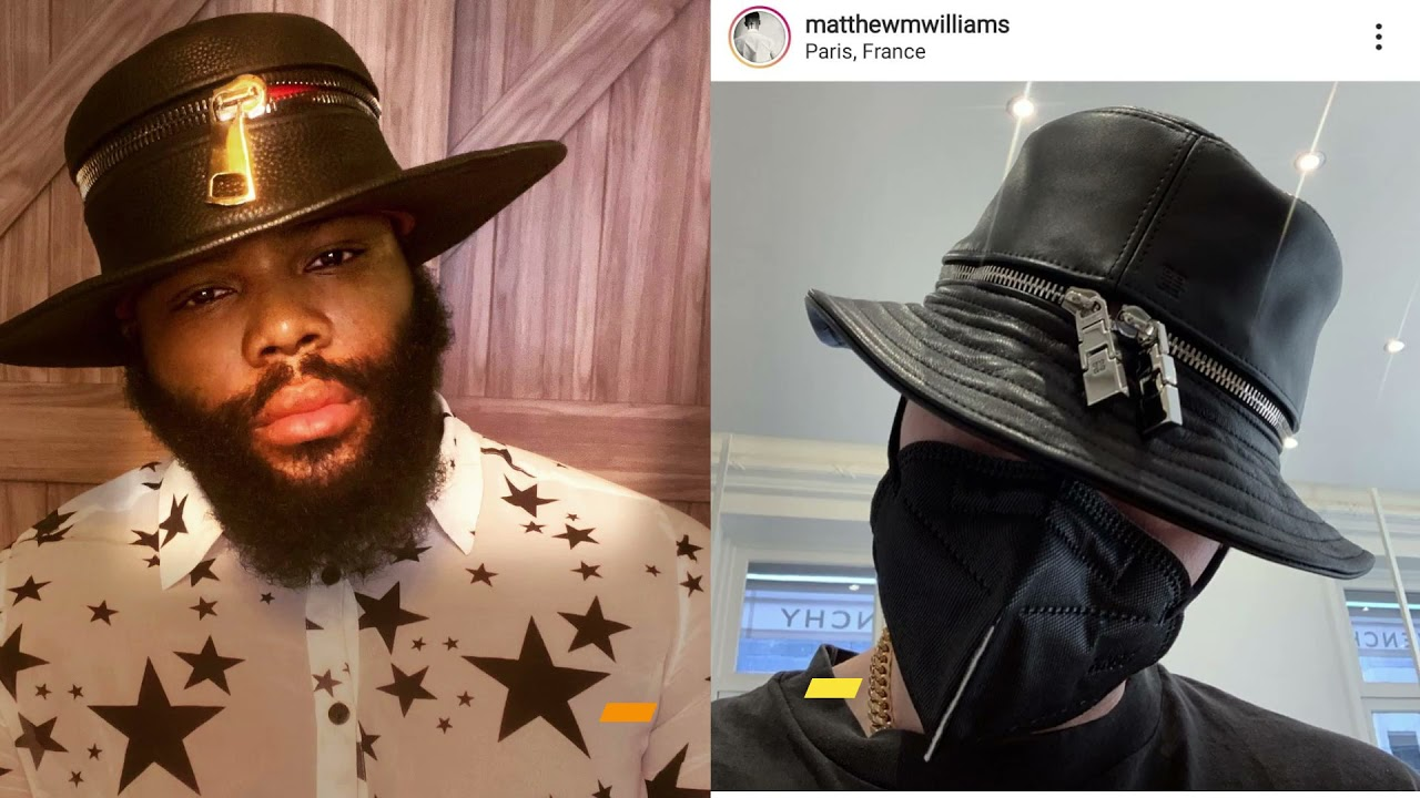 Bronx Designer Tyson Perez claims Givenchy Stole His Hat Design, Givenchy 'Paused' Hat Production