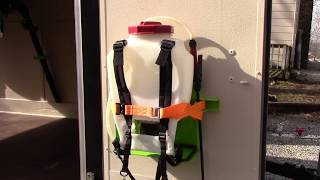DLC - Green Touch Sprayer Rack