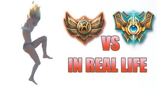 bronze vs challenger in real life 13 amateur vs professional