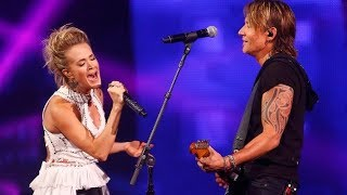 Keith Urban and Carrie Underwood 34 The Fighter 34