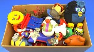 Коробка с Игрушками Миньоны, Черепашки ниндзя, Тачки, в поисках Немо, Ну Погоди