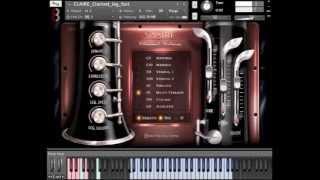 8Dio Clarinet Virtuoso Legato