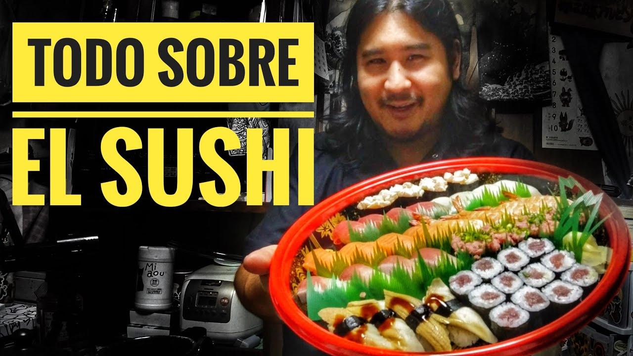 🍣 9 Tipos de SUSHI de DELIVERY de Japón - Historia del sushi y comparativa con occidente