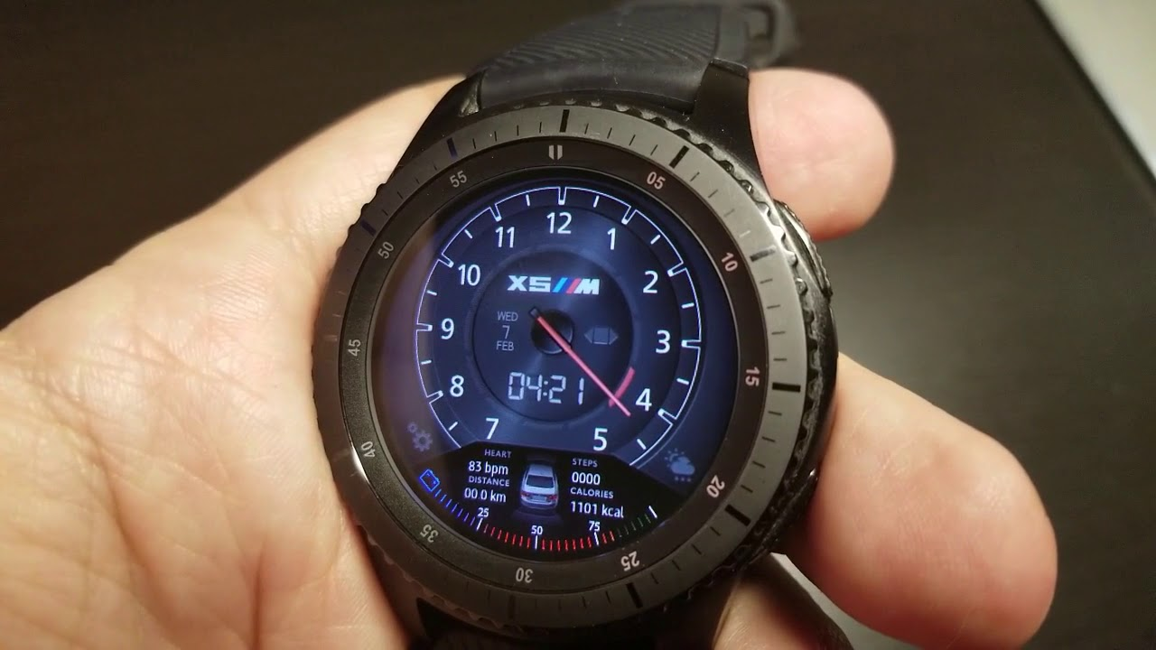 Samsung Gear S3 Gear Sport Bmw Watchface By Peter Blay Free Coupon Giveaway Jibber Jab Reviews Youtube