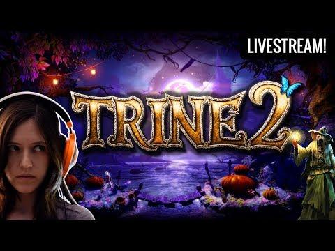 Trine 2 Stream! Medieval Fantasy Adventure Puzzle Game (Chat Interaction Stream)