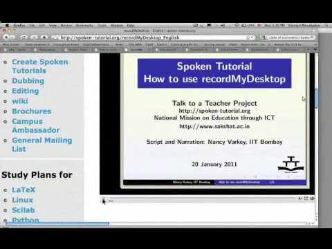 ICT 2016-2017: Spoken Tutorial by Prof  Kannan, IIT-B [Marathi]