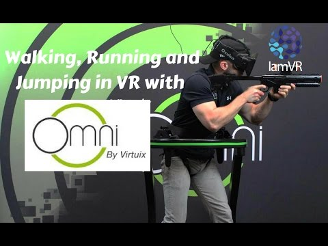 Be Fearless in VR - Run, Crouch and Jump Virtuix Omni Trailer